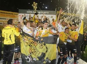 São Bernardo campeão Copa Paulista (Foto: Divulgação)