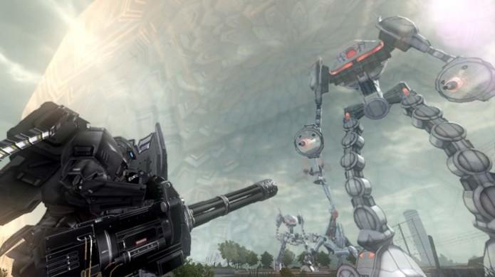 Todos os inimigos em Earth Defense Force 2025 são gigantes (Foto: pushsquare.com)