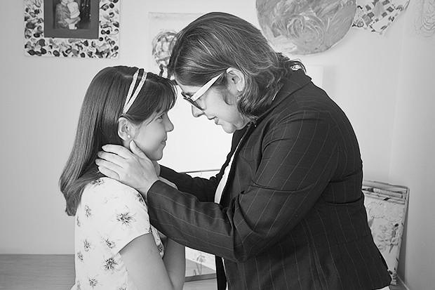 Iliane Alencar, da Tecsaúde, e sua filha Lara (Foto: Eduardo Siqueira / Editora Globo)