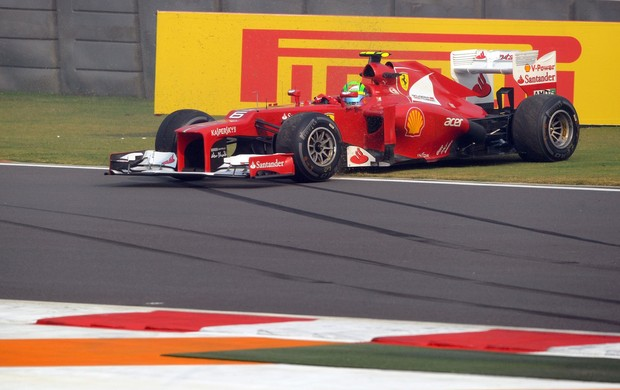 massa india formula 1 (Foto: AFP)