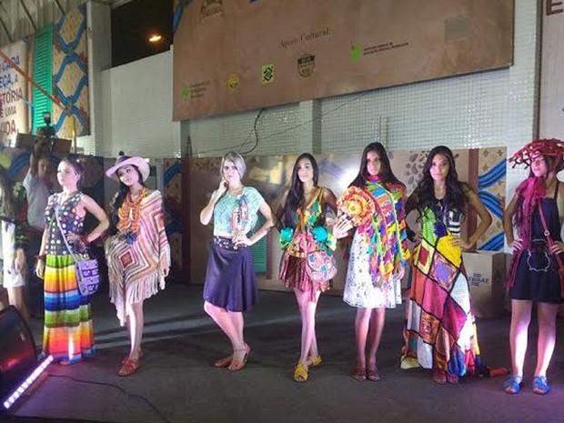 24º Salão do Artesanato da Paraíba foi aberto com desfiles (Foto: Walysson Melo/G1)
