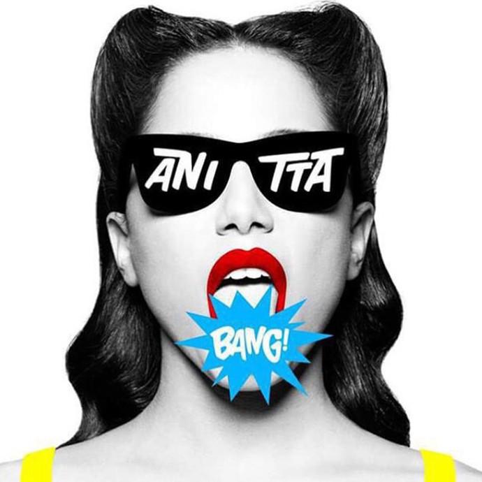Anitta anuncia capa do novo álbum Bang (Foto: Divulgação)