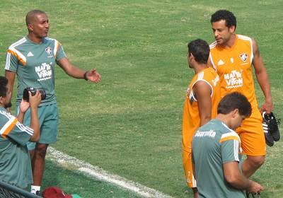 Treino Fluminense Fred (Foto: Fred Huber)