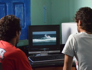 Surfistas sergipanos vão produzir vídeo no Rio de Janeiro (Foto: Felipe Martins/GLOBOESPORTE.COM)