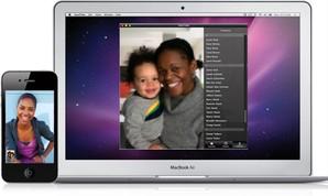 FaceTime permite que você faça video chamadas com o Mac