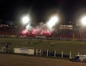 Estádio do Bambu, em Aracruz (Foto: Bruno Marques/Globoesporte.com)