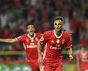 Jonas começa temporada com gol e ajuda Benfica a faturar a Supertaça