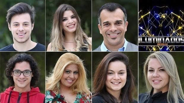 Veja os participantes do 'Iluminados' deste domingo (Globo)