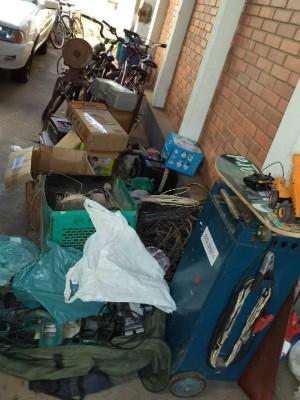 Produtos foram apreendidos em uma casa na Vila Felix (Foto: Divulgação / Polícia Civil de Laranjal Paulista)