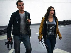 Will Arnett e Megan Fox em 'As Tartarugas Ninja' (Foto: Divulgação/Paramount)