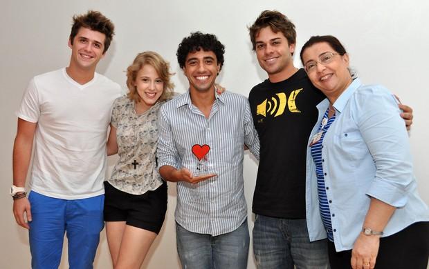 Gil Coelho, Marcella Rica, Felipe Haiut, Lucas Cordeiro e Esther Lopes (Foto: Divulgação)