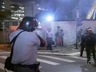 Polícia Militar utiliza violência para reprimir protesto em São Paulo