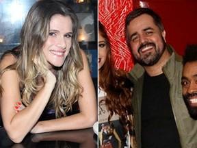 Ingrid Guimarães e ex-BBB Marcelo Arantes (foto de arquivo) (Foto: Alex Palarea/ Ag. News e Celso Tavares/ EGO)