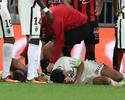 Falcao García deixa hospital após sofrer choque com goleiro na cabeça