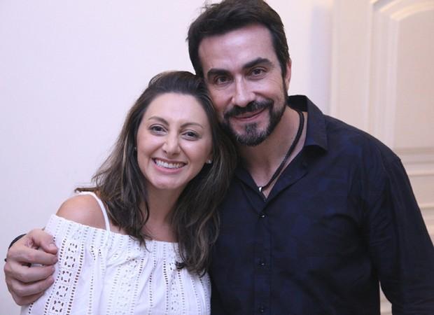Padre Fábio de Melo e a cantora Lilian (Foto: Alice Venturi/Divulgação)