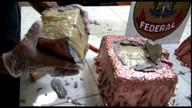 PF apreende 15,6 kg de cocaína em obra de arte no Aeroporto do Recife