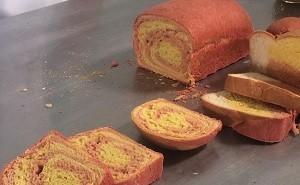 Pão colorido do Plug (Foto: Divulgação/RPC)