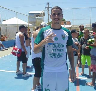 Matheus Peixoto, atacante do Bahia (Foto: Juan Andrade/ GloboEsporte.com)