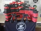 Denarc apreende 100 kg de cocaína em fundo falso de caminhão no PR