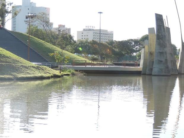 Parque Vitória Régia é o principal ponto turístico de Bauru (Foto: Alan Schneider/G1)