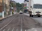 Asfaltamento de trilhos é criticado (Reprodução EPTV)