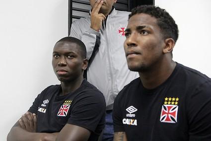 Jomar Thalles Vasco debate racismo (Foto: Paulo Fernandes/Vasco.com.br)