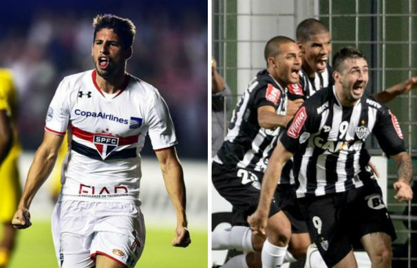 São Paulo recebe o Atlético no Morumbi (Foto: montagem/GE)