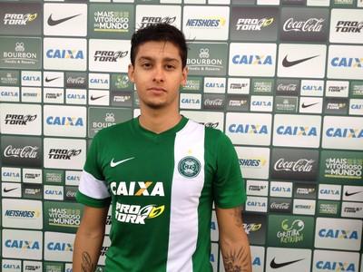 Diego Sodré jogador Coritiba (Foto: Monique Silva)