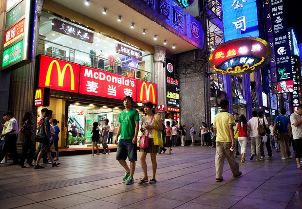 Rede de lanchonetes McDonald's vai mudar o nome para Golden Arches na China (Foto: Ryan Pyle/Getty Images)