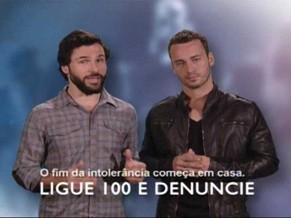 Campanha contra o preconceito a homossexuais (Foto: Divulgação)