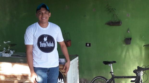 Daniel Sousa, fundador da food bike Divino Kebbab (Foto: Divulgação)