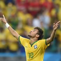 Foi melhor do que eu imaginei, diz Neymar (Vanderlei Almeida/AFP)