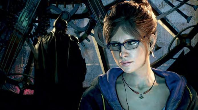 Bárbara Gordon aparecerá no jogo fisicamente, não apenas como uma voz (Foto: All Games Beta)