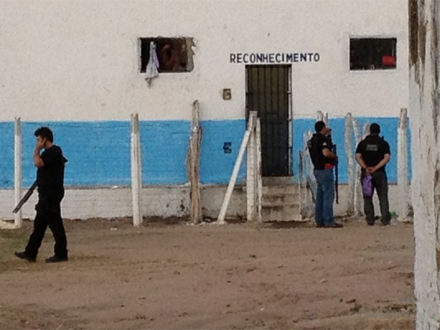 Preso foi encontrado morto na cela de reconhecimento (Foto: Walter Paparazzo/G1)