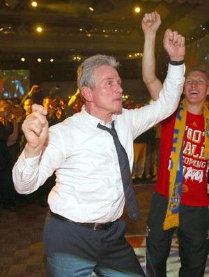Jupp Heynckes Bayern Munique festa (Foto: EFE)
