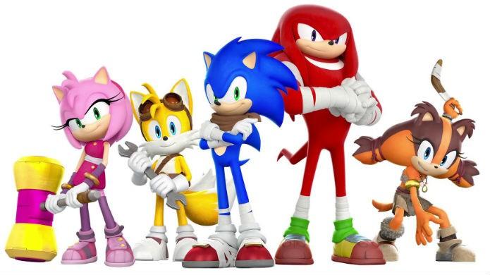Sonic the Hedgehog polemizou com seu novo estilo em Sonic Boom (Foto: Divulgação/SEGA)