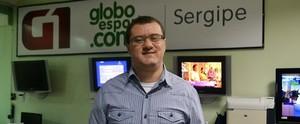 Thiago Barbosa fala da expectativa de atuar na cobertura da Olimpíada no Rio de Janeiro (Divulgação/TV Sergipe)