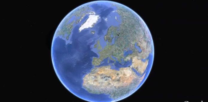 Versão Pro do Google Earth pode ser usada de graça (foto: Reprodução/Google) (Foto: Versão Pro do Google Earth pode ser usada de graça (foto: Reprodução/Google))