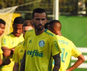 Leandro Pereira Palmeiras (Foto: Rodrigo Faber)