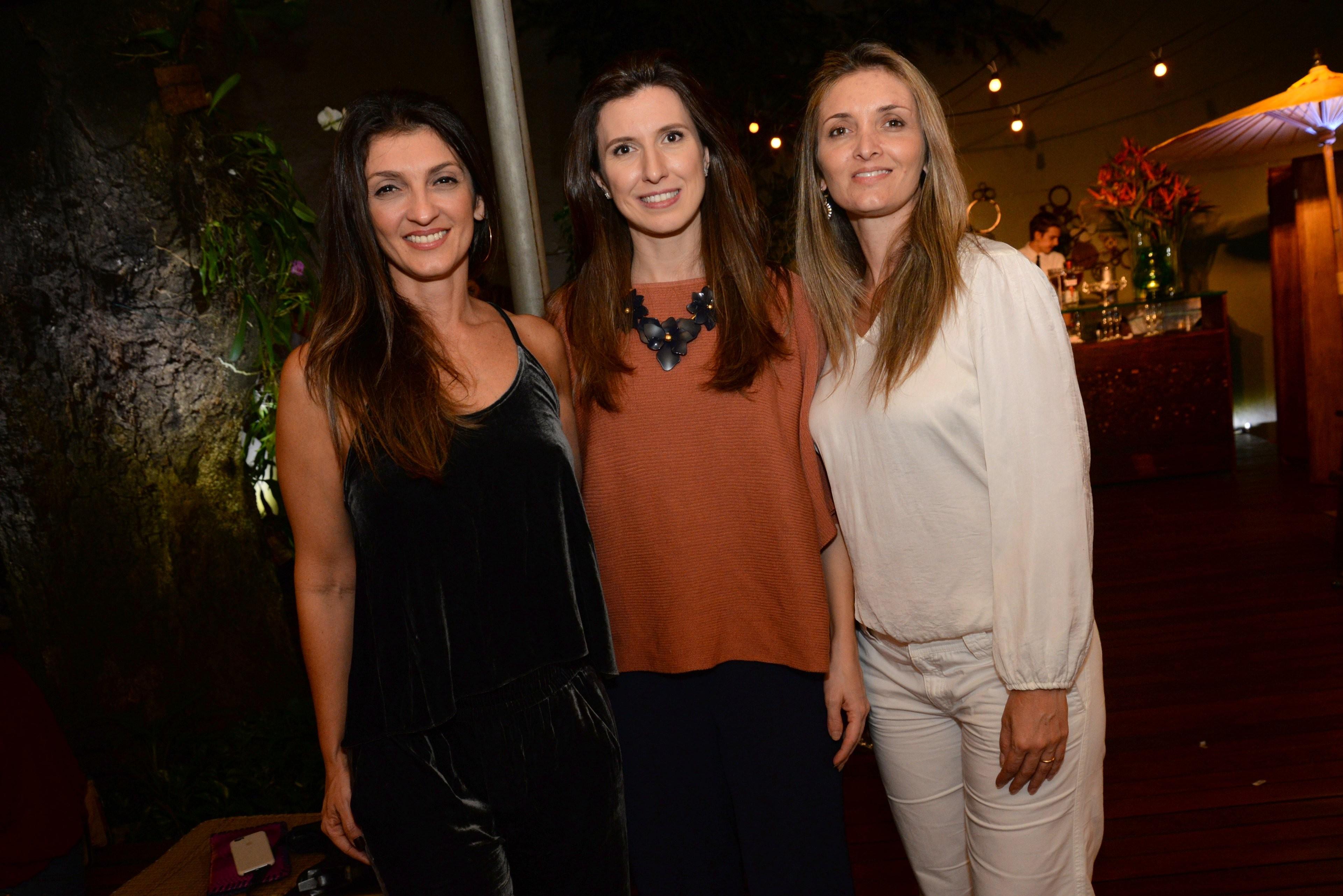 Leticia Carvalho, Constance Zahn e Bianca Damaren (Foto: Divulgação)