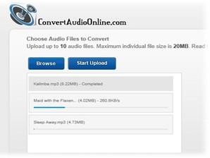 Convert Audio Online