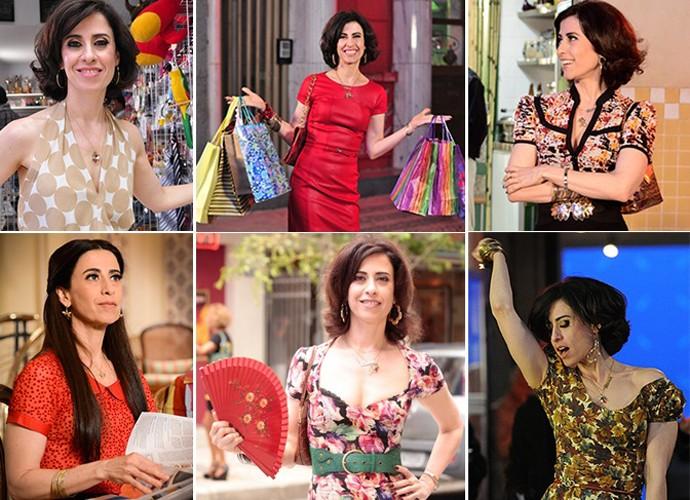 Fernanda Torres comemora aniversário no último episódio de 'Tapas' (Foto: Gshow)