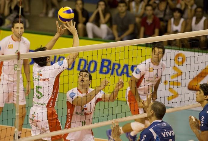 Campinas x Minas Copa Brasil vôlei (Foto: Cinara Piccolo / Brasil Kirin)