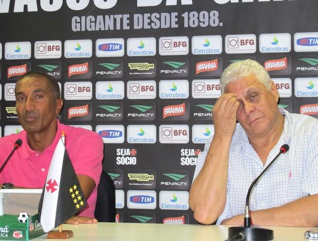 Cristóvão e Dinamite, Vasco da gama (Foto: André Casado / Globoesporte.com)