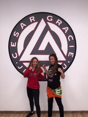 Heather Clark e Leslie Smith MMA UFC