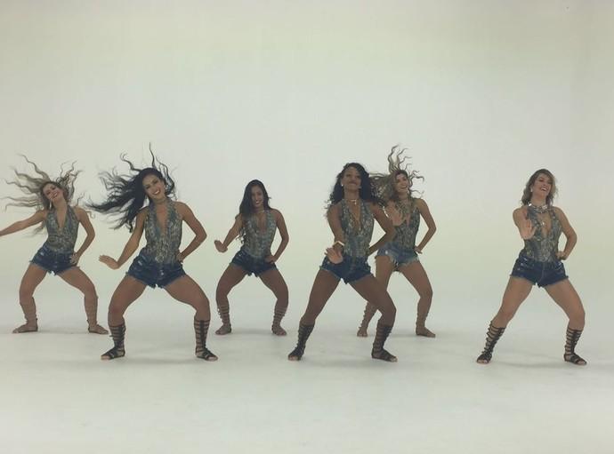A coreografia do clipe foi feita por Camila Lobo (Foto: Divulgação)