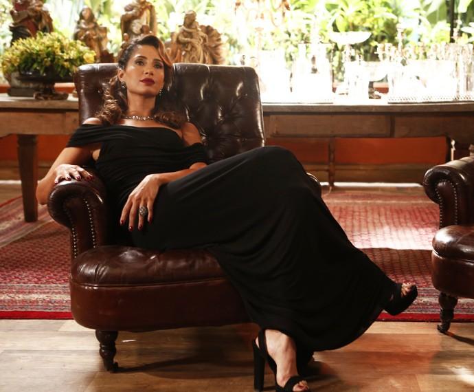 Será que a ex de Vini vai virar uma estrela? (Foto: Inácio Moraes/Gshow)