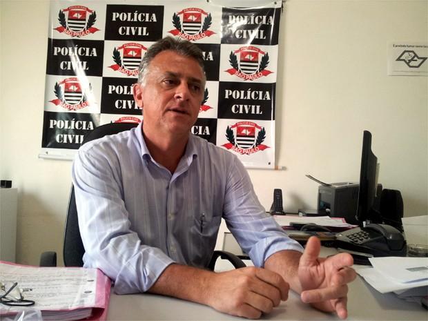 Delegado da Dise de Ribeirão Preto, Paulo Martins, falou sobre os ataques na cidade (Foto: Rodolfo Tiengo/ G1)