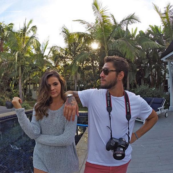 Bruna Marquezine e Beto Gatti (Foto: Reprodução/Instagram)