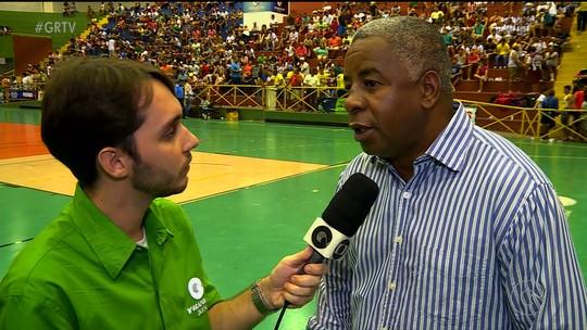 De olho: Andrade assiste jogos da Copa TV GR em busca de talentos